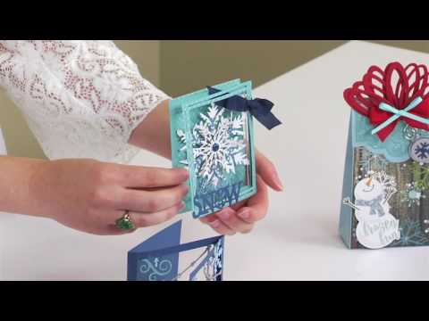 Sizzix - A Closer Look: Festive Gift Giving with Lindsey Serata