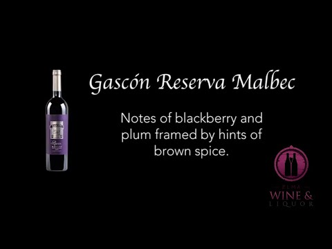 Gascon Reserva Malbec | Elma Wine & Liquor