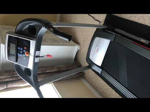 Sunny Health & Fitness SF-T4400 Treadmill Unboxing 2019