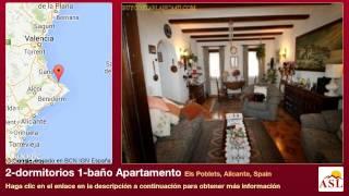 preview picture of video '2-dormitorios 1-baño Apartamento se Vende en Els Poblets, Alicante, Spain'