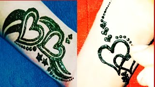 Simple Tattoo Designs Of Heart And Star,heart Tattoo Mehndi Design,how To Draw Heart Tattoo Design||
