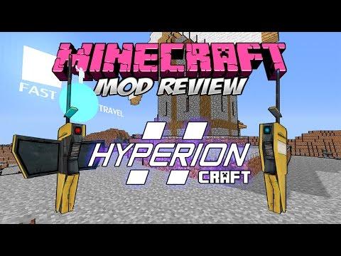 HYPERIONCRAFT MOD - ¡El Hyperion Fast Travel en Minecraft! [Forge][1.7.10][Español]