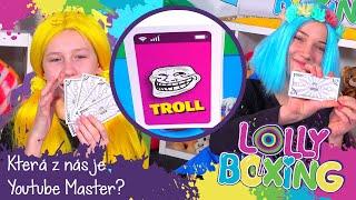 LOLLYBOXING - Která z nás bude Youtube master?