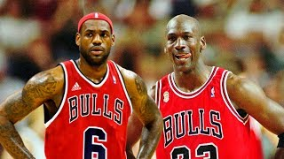LeBron James Meets Michael Jordan In 1995–96
