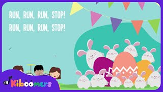 The Kiboomers - 10 Easter Bunnies (Lyrics)