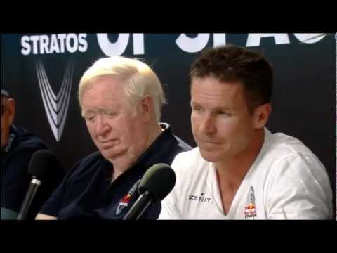 Red Bull Stratos Post Jump Press Conference (2012)