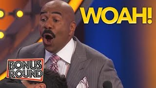 WOAH! Steve Harvey Asks DOCTOR Questions And Gets some FUNNY Answers! Family Fued USA