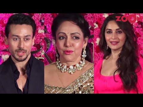 Tiger Shroff on his wedding plans   Hema Malini & Madhuri Dixit at an award show