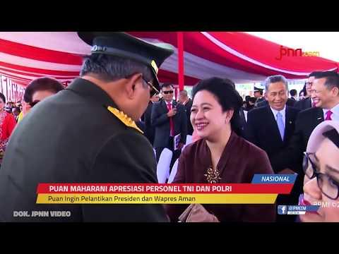 Puan Maharani: Terima Kasih TNI-Polri