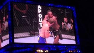 UFC on Fox 14 Sweden Tele 2 arena, Baba O