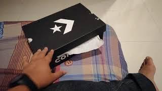 1e7d72831dce Double Review n UNBOXING CONVERSE  Converse All Star One Star n Converse  All Star Chuck