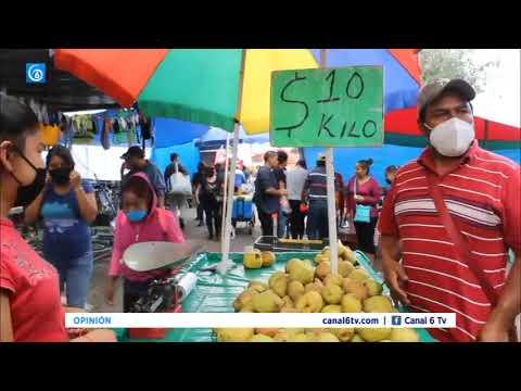 Ante nulos apoyos del gobierno, comerciantes de Puebla piden que los dejen trabajar