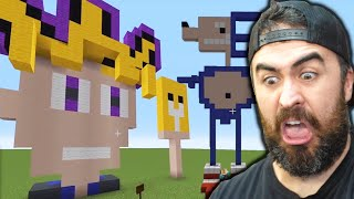 How To Be Creative in Minecraft w/ Pewdiepie