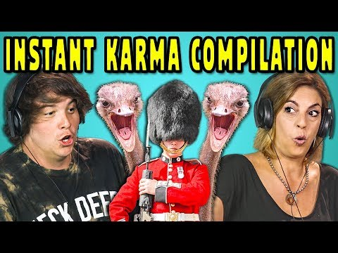 ADULTS REACT TO INSTANT KARMA COMPILATION mp3