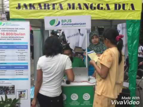 Edukasi Pasar Rakyat BPJS Ketenagakerjaan Jakarta Mangga Dua