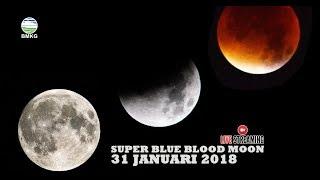 Pengamatan Gerhana Bulan  STMKG di Roof top Lab Geofisika STMKG, Pondok Betung, Tangerang Selatan