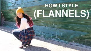 How I Style: Flannel Shirts   Five Ways To Wear Flannel