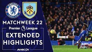 Chelsea v. Burnley   PREMIER LEAGUE HIGHLIGHTS   1/11/2020   NBC Sports