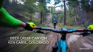 The mix of technical and flowing trail at Deer Creek Canyon makes for stupid fun riding!