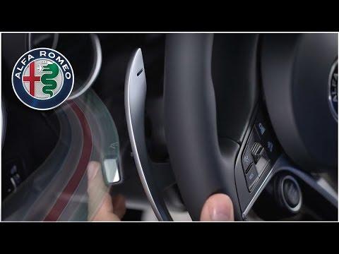 Multifunction Lever - Turn signals and headlight high beam brights | 2018 Alfa Stelvio | Alfa Romeo