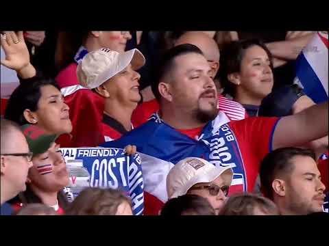 England vs Costa Rica National Anthem (International Friendlies)
