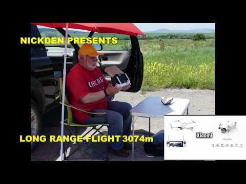 NEW FPV RECORD NO BOOSTERS IN USE GREAT DRONE FOR LONG RANGE FLIGHT