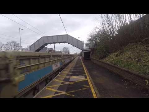Scotrail 68006 speeds through Chester-le-Street with stone t…