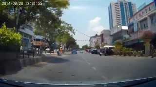 preview picture of video 'Park City Everly Hotel Miri to Permaisuri Imperial City Mall Miri'