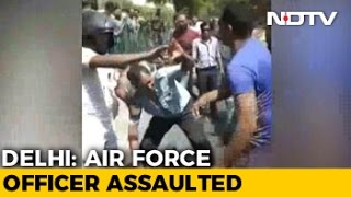 Air Force Man Thrashed In Delhi After His Bike Nudges Car