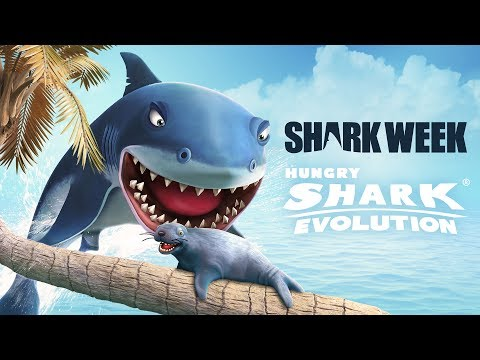 Hungry Shark Evolution – Upd 5.0 Trailer Shark Week 2017 (GGP)