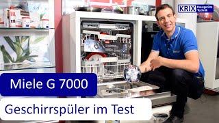 Test: Miele Geschirrspüler AutoDos G 7000