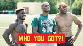 WE RACED FOR $1,000 (MUST SEE) | Tyreek Hill x Terrell Owens x Ochocinco
