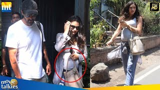 Daddy Duties! Arjun Rampal's PREGNANT Girlfriend Gabriella Demetriades Flaunts BABY BUMP