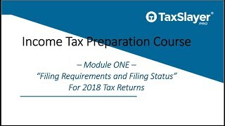 Filing Status and Filing Requirements for Tax Returns