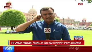 Rashtrapati Bhawan is all set for the swearing in ceremony of Team Modi