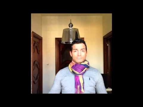 sciarpa uomo tanti modi per indossarla
