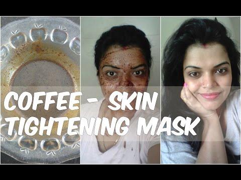 Face mask na may uling at puti clay