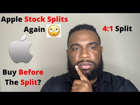 BUY APPLE STOCK BEFORE THE SPLIT? | (AAPL) ANALYSIS | APPLE STOCK SPLIT