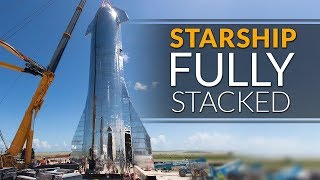 SpaceX Starship update - Fully Assembled and ready for Elon Musk's Presentation