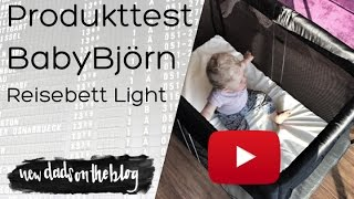 Produkttest - BabyBjörn Reisebett Light