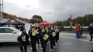 Army Football Team Arrives Michie Stadium for Air Force