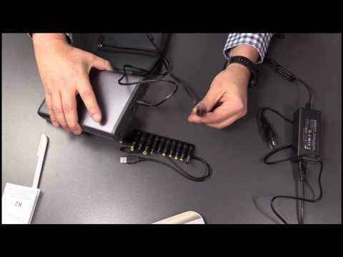 MAXOAK 50.000mAh Powerbank (5V / 12V / 20V) Akku Batterie Ladegerät für Laptops und Notebooks