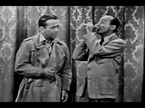 Jack Benny and Humphrey Bogart