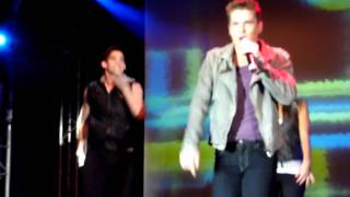 Joe McElderry 2nd May Potters, Love is War/Fahrenheit