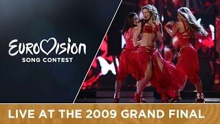 Hadise - Düm Tek Tek (Turkey) Live 2009 Eurovision Song Contest