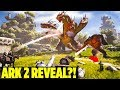 DID THEY SERIOUSLY JUST ANNOUNCE ARK 2 Atlas New MMO WildCard Ark Survival Evolved Extinction