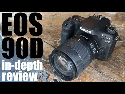 External Review Video TzKqbjMX1X4 for Canon EOS 90D APS-C DSLR Camera