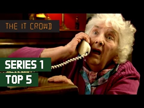 Video trailer för TOP 5 The IT Crowd Best Moments | Series 1