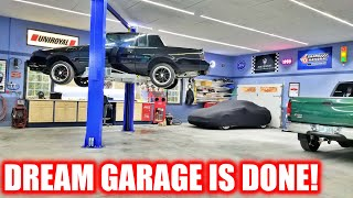 Dream Garage Finale - WATCH BEFORE YOU BUY A LIFT!