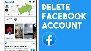 How to Delete Facebook Account Permanently on Mobile (2021) | Delete Facebook Account on Android